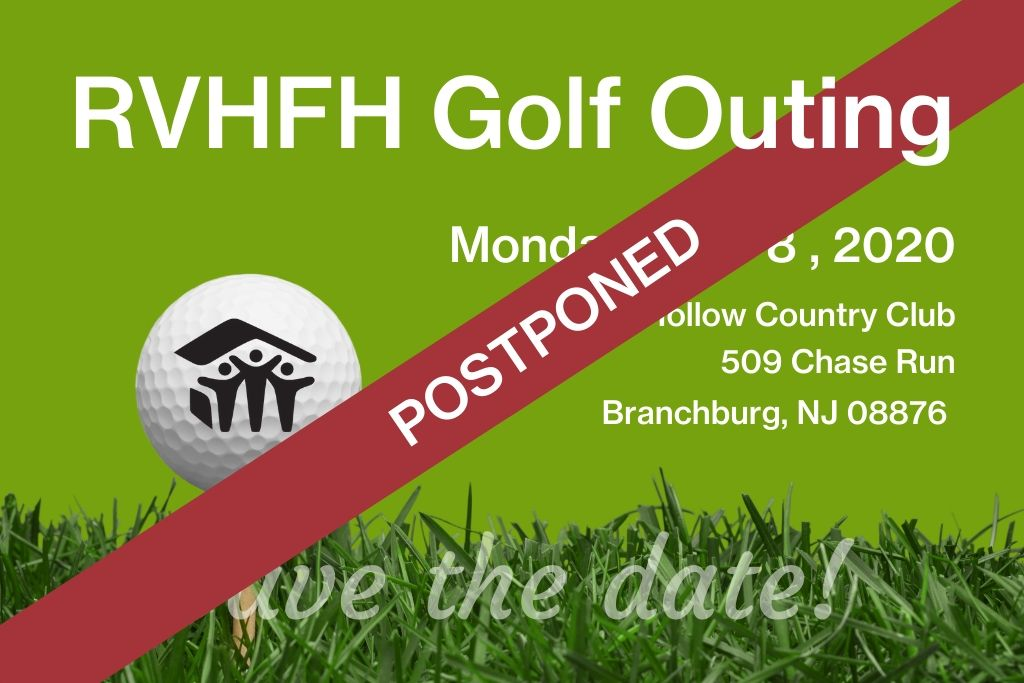 golf outing postponed