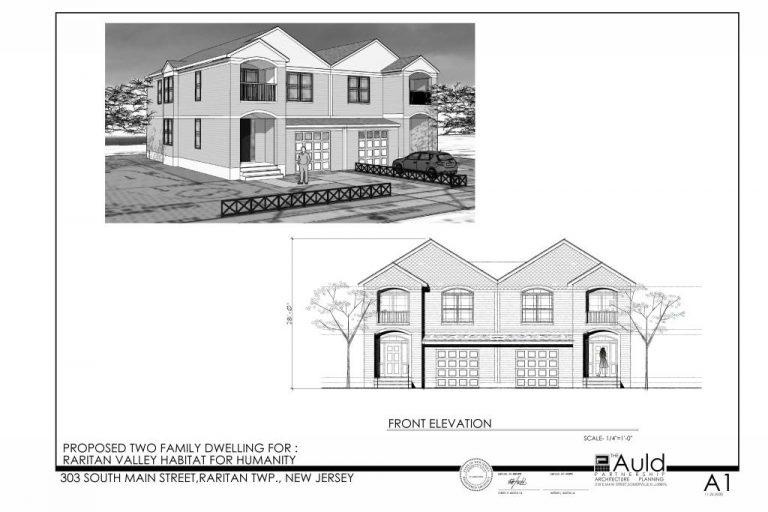 Raritan Township proposed duplex photo
